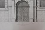 Moniteur des Architectes : Ancien évèché de Lisieux. Inconnu