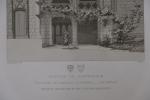 Moniteur des Architectes : Château de Chateaudun. Inconnu