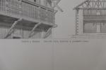 Moniteur des Architectes, Grande à Zernez : Balcon pour fleurs à Alvaneu (Suisse). Inconnu