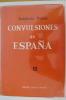 CONVULSIONES DE ESPANA, pequenos detailles de grandes suceros. en 3 tomes. Priméra edicion . Indalecio Prieto