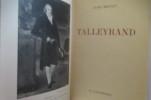 TALLEYRAND.. Jules Bertaut