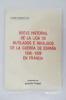 BREVE HISTORIAL DE LA LIGA DE MUTILADOS E INVALIDOS DE LA GUERRA DE ESPANA 1936 - 1939 EN FRANCIA.. Antonio Trabal