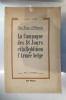 LA CAMPAGNE DES 18 JOURS ET LA REDDITION DE L'ARMEE BELGE.. Saint-Yves