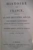 HISTOIRE de FRANCE pendant LE DIX-HUITIEME SIECLE. Troisième édition. En 13 tomes (manque le 14eme).. Charles Lacretelle