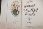 Histoire du Canada Français. François-Xavier Garneau