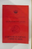 LE ROYAUME DE PORTUGAL / L'EMPIRE DU BRESIL : Vol 1. C.E.D.R.E. Cercle d'Etudes des Dynasties Royales Européennes
