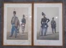 ARMEE DE LIGNE : Cuirassiers, Officiers (Grande et Petite Tenue) + Lanciers, Officiers (Grande et Petite Tenue) + Chasseurs, Soldat (Grande Tenue) et ...