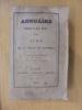 ANNUAIRE POUR L'AN 1845 PRESENTE AU ROI PAR LE BUREAU DES LONGITUDES. Deuxième édition. . M. Arago