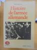 Histoire de l'armée allemande, 1937-1939 (volume 2). Benoist-Méchin, Jacques