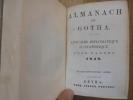 ALMANACH DE GOTHA POUR L'ANNÉE 1849.