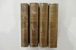 LES TROIS ROME. Journal d'un voyage en Italie. En 4 tomes. Accompagné d'un plan de Rome ancienne et moderne et d'un plan de Rome souterraine ou des ...