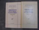 Oeuvres complètes, tome XIII : Correspondance d'Alexis de Tocqueville et de Louis de Kergolay.. Alexis de Tocqueville