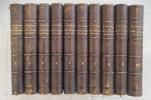 HISTOIRE DE LA REVOLUTION FRANCAISE. Treizième édition. 10 tomes.. M. A. Thiers