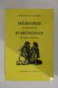 MEMOIRES DE MONSIEUR D'ARTAGNAN.. Courtilz De Sandras