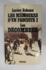LES MEMOIRES D'UN FASCISTE Tome 1 : LES DECOMBRES 1938-1940.. Lucien Rebatet