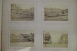 PARIS INCENDIE 1871. ALBUM HISTORIQUE. Contenant :  1. Historique par H. De Bleignerie /  2. Notice sur les Monuments et les rues incendiés par E. ...
