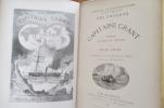LES ENFANTS DU CAPITAINE GRANT, VOYAGE AUTOUR DU MONDE . Jules Verne
