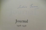JOURNAL 1928-1958. (Signé).. Julien Green