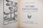 VICTIME EXPIATOIRE. 27 bois originaux de Hermann Paul.. André Corthis
