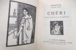 CHERI. 22 bois originaux de G. Jeanniot.. Colette
