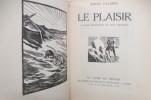 LE PLAISIR. 35 bois originaux de Paul Baudier.. Binet-Valmer