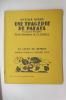 UNE TRAGEDIE DE PALAIS. 35 bois originaux de Claudel.. Octave Aubry