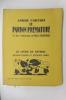 LE PARDON PREMATURE. 25 bois originaux de Paul Vigoureux.. André Corthis