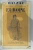Numéro Spécial BALZAC. N° 55-56.. EUROPE. Revue Mensuelle.