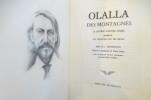 OLALLA DES MONTAGNES et autres CONTES NOIRS précédé de UN CHAPITRE SUR LES RÊVES.. R. L. Stevenson
