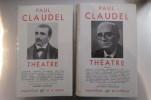 THEATRE. En 2 Tomes.. Paul Claudel