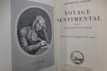 VOYAGE SENTIMENTAL EN FRANCE ET EN ITALIE. Lawrence Sterne