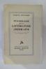 PSYCHOLOGIE DE LA LITTERATURE AMERICAINE. Ludwig Lewisohn