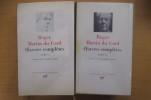 OEUVRES COMPLETES. En 2 tomes.. Roger Martin du Gard