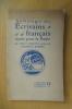 ANTHOLOGIE DES ECRIVAINS FRANCAIS MORTS POUR LA PATRIE. Tome 1.. Carlos Larronde - Maurice Barrès (préface)