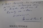 SOUS L'ETOILE DU CHIEN (avec un envoi de l'Auteur). Bernard Puech