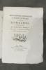 DELL'ORIGINE, DE PROGRESSI E DELLO STATO ATTUALE D'OGNI LETTERATURA. En 7 volumes. 1782 - 1799.. ANDRES GIOVANNI