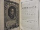 OEUVRES. Du tome 1 au tome 40 (manque les tomes 18, 19 et 29). Comprenant : 1 vol La Henriade - 9 vols Théâtre - 1 vol La Pucelle - 2 vols Poésies - ...