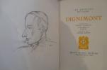 Les Artistes du Livre DIGNIMONT. André Warnod