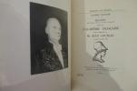 DISCOURS PRONONCES DANS LA SEANCE PUBLIQUE TENUE PAR L'ACADEMIE FRANCAISE POUR LA RECEPTION DE M. JEAN COCTEAU. Le Jeudi 20 Octobre 1955.. Académie ...