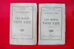 LES MORTS VONT VITE. En 2 séries.. Alexandre Dumas
