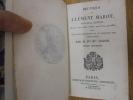 Oeuvres de Clément Marot (5 Tomes - Complet) Nouvelle édition revue sur toutes celles qui l'ont précédée, avec des notes historiques et un glossaire ...