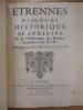 Etrennes, Discours Historique de l'origine et de l'Obfervation des Erennes ou premier Jour de l'An. Duc de Montausier