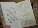 Recueil des Lettres de Mad. la Marquise de Sévigné, à Mad. la Comtesse de Grignan, sa fille.. Marie de Rabutin-Chantal, Marquise de Sévigné