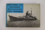 Pocket Pictorial. JAPANESE BATTLESHIPS AND CRUISERS & JAPANESE AIRCRAFT CARRIERS AND DESTROYERS. En 2 vol. . Macdonald & Co