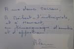 UN CONQUERANT SOUS LA MER. Henri-Germain Delauze. (avec un envoi de l'Auteur). Alain Dunoyer de Segonzac