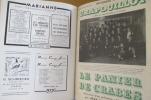 HISTOIRE DE LA PRESSE LE CRAPOUILLOT. Jean Galtier-Boissiere et René Lefebvre
