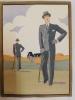 L'Homme Chic, 14 estampes, Hiver 1930.. L'Homme Chic à Paris