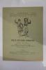 """SUPPLEMENT MUSICAL DU 1er JUIN 1921 / 2e Année / Numéro 8. DEUX OEUVRES INEDITES de MANUEL DE FALLA. """"POLO"""" chanson populaire espagnole. """"RECIT DU ..."""