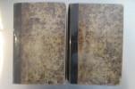 CHANSONS de P.J. DE BERANGER précédées d'une NOTICE SUR L'AUTEUR et d'un essai sur ses poésies par M.P.F. Tissot. 4 tomes en 2 volumes.. P.J. De ...