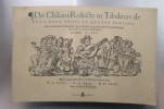 CHANSONS REDUICTZ EN TABLATURE DE LUT A DEUX, TROIS ET QUATRE PARTIES. Livres I - III. Introduction d'Henri Vanhulst..